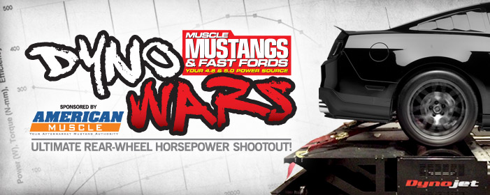 AmericanMuscle.com Muscle Mustangs & Fast Fords Magazine Dyno Wars
