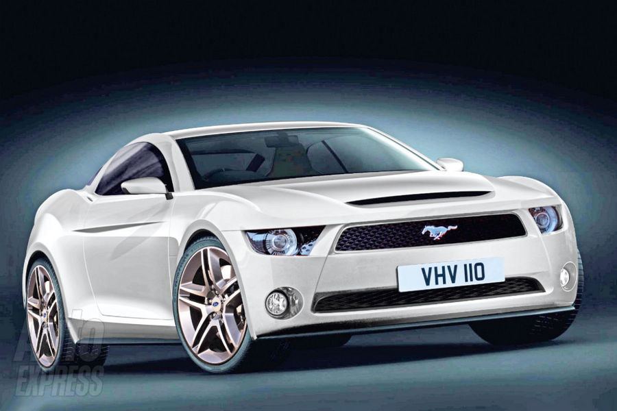 2014 Ford Mustang Concept Car