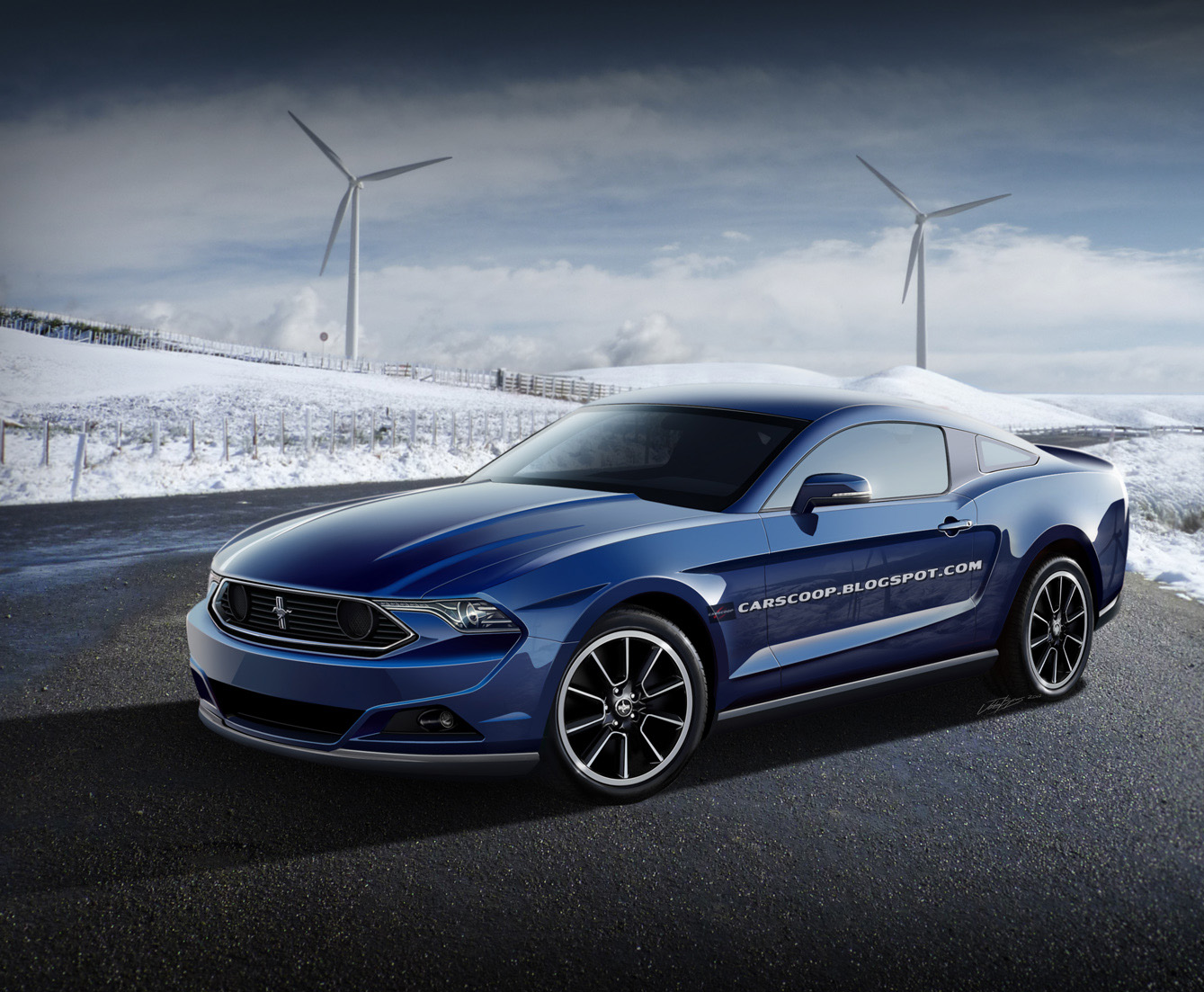 hot or not 2015 ford mustang redesign concept. Black Bedroom Furniture Sets. Home Design Ideas