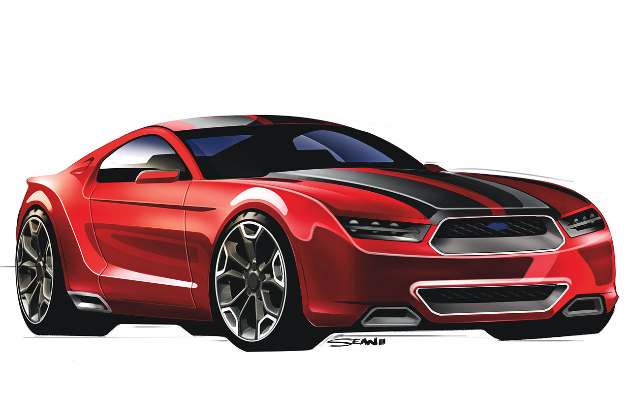 Hot or Not? 2015 Mustang Concept Rendering!