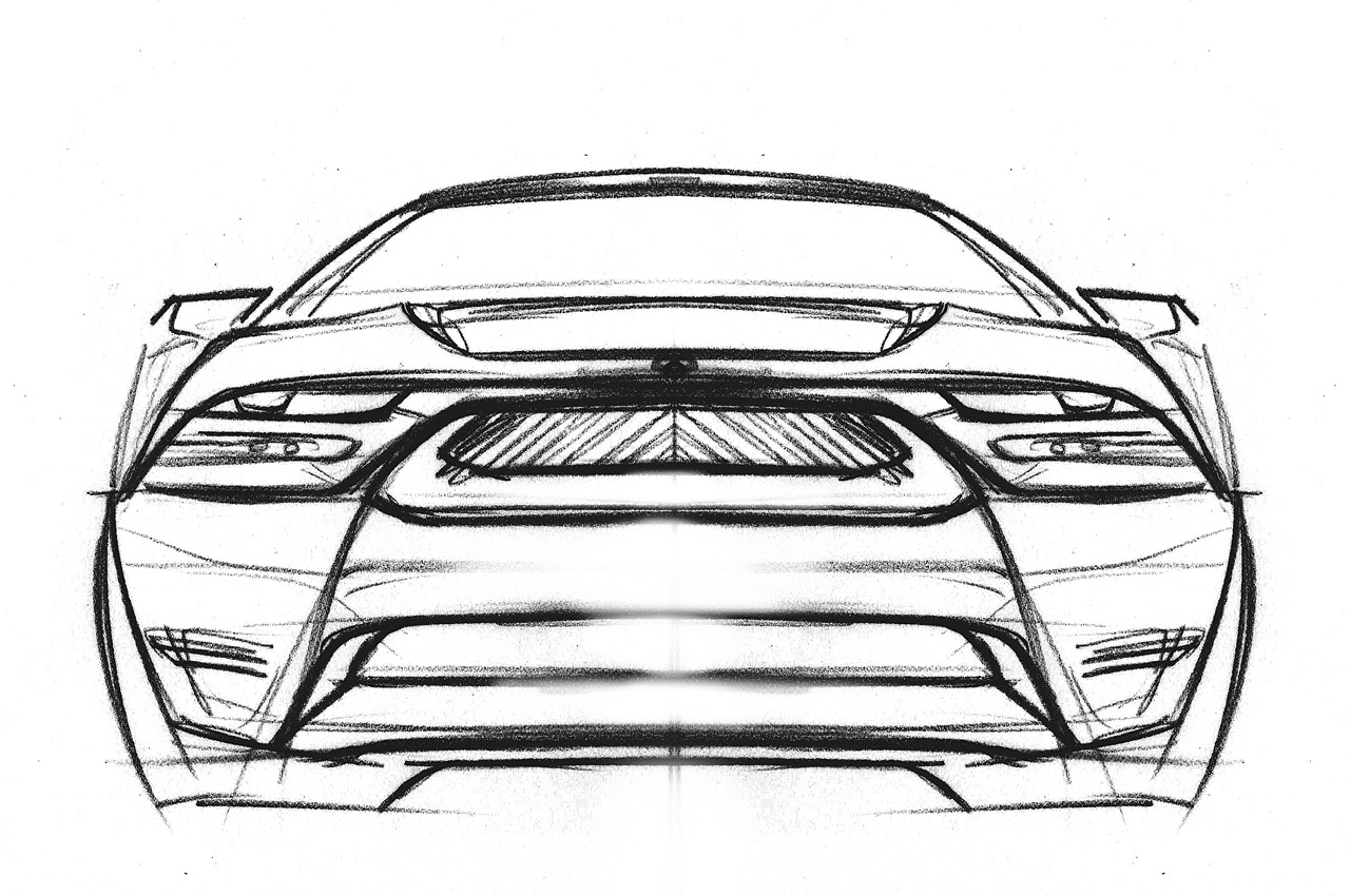 2015 Mustang Concept Design Rendering