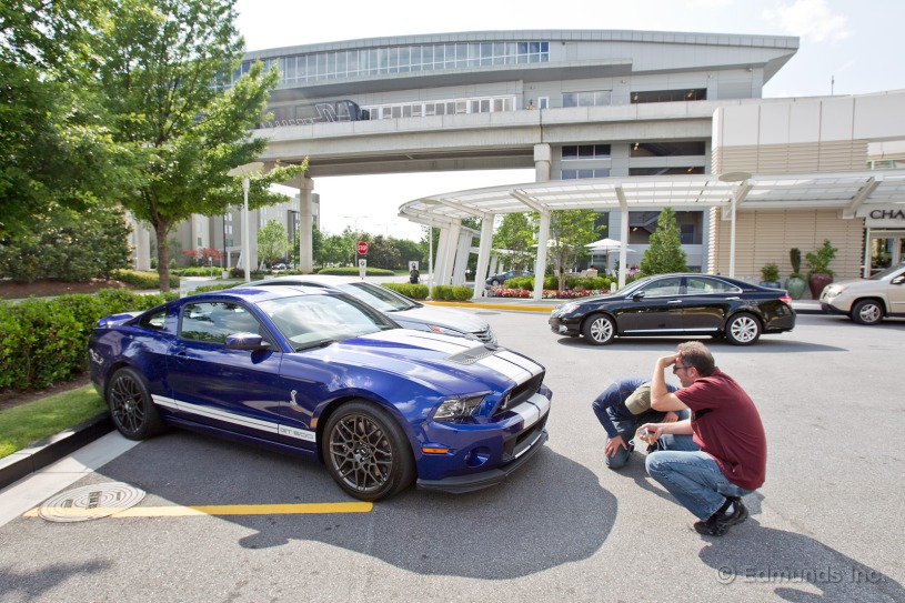 2013 Shelby GT500 Starts its Journey Cross Country