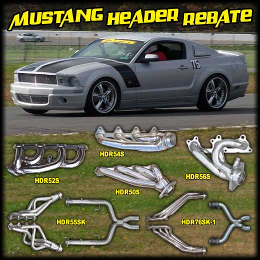 Pypes Performance Exhaust Mustang Header Rebate