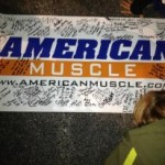 Hurricane Sandy AmericanMuscle Banner