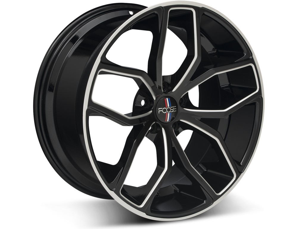 Foose machined black Outcast rim
