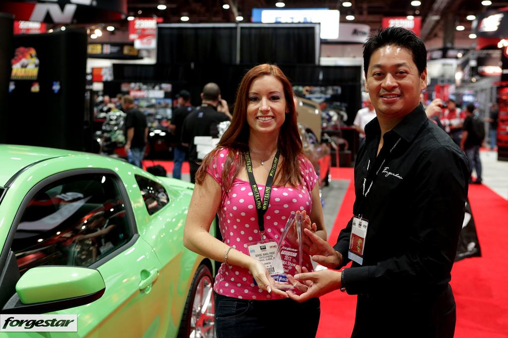 Nikki Frost Wins SEMA 2012