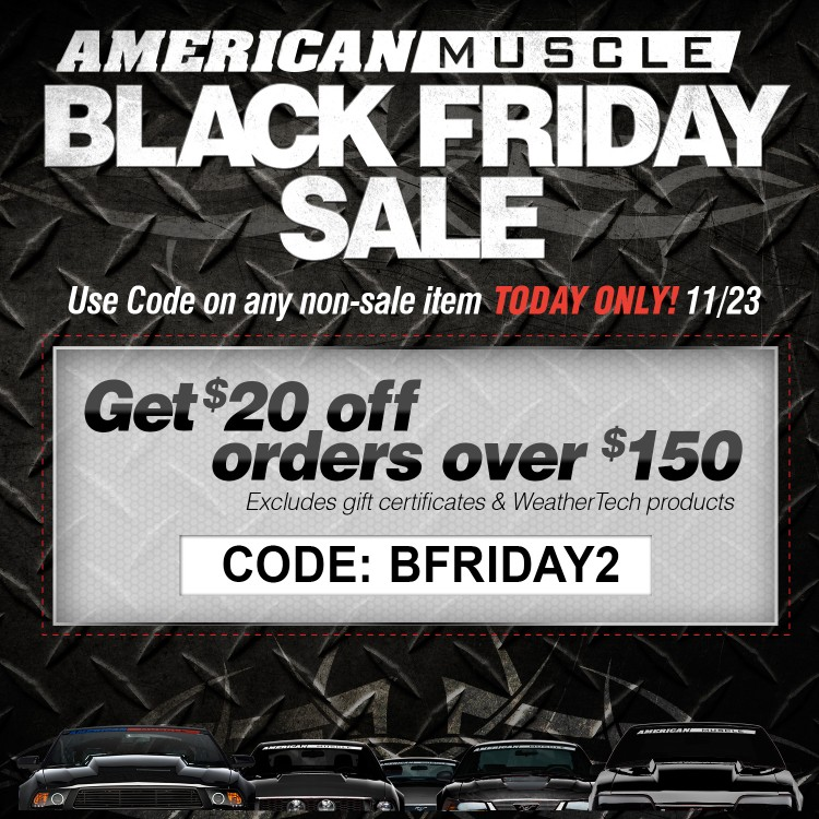 american muscle black friday coupon