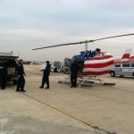 Hurricane Sandy Relief Helicopter