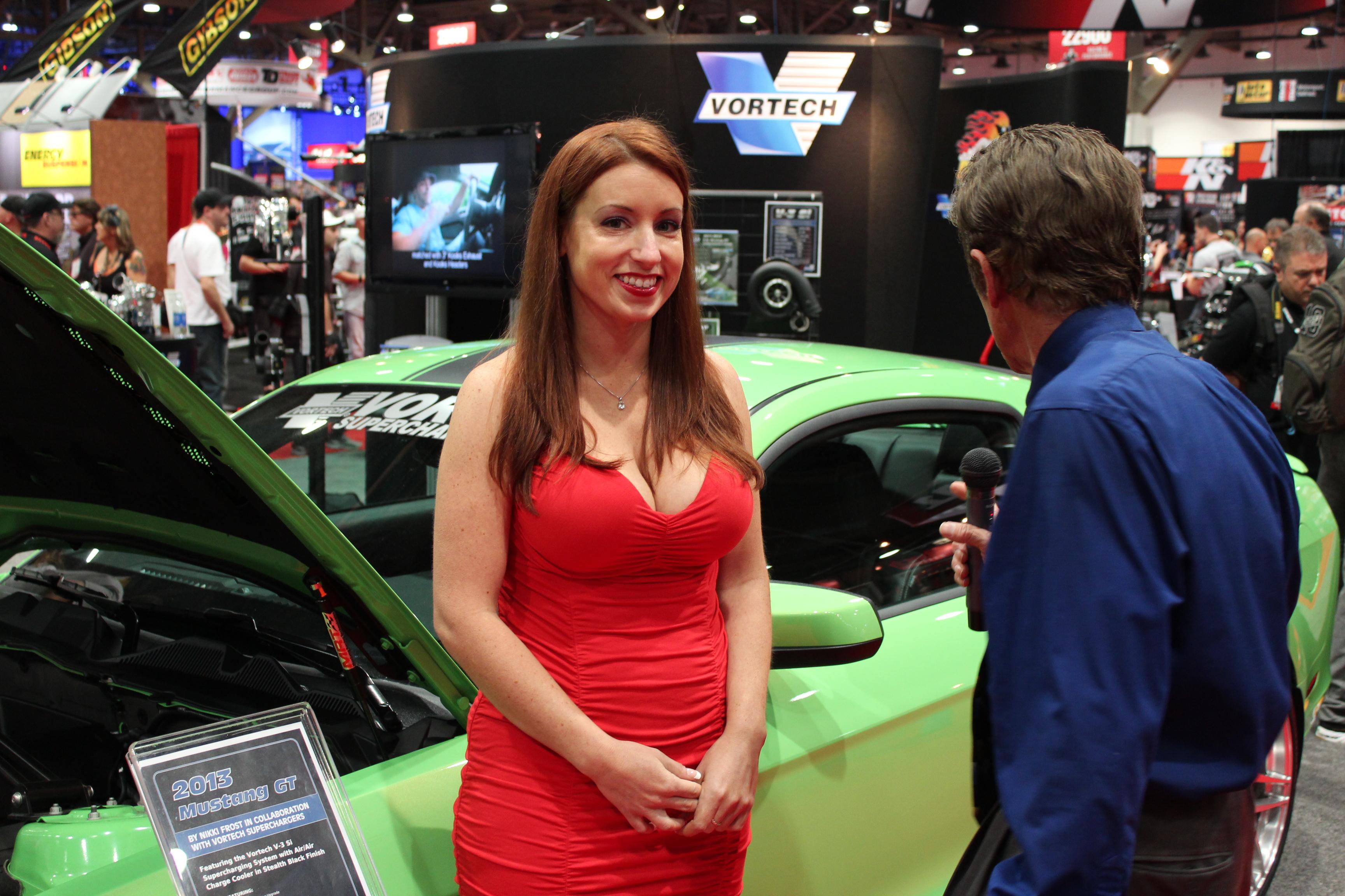 Nikki Frost 2012 Mustang GT SEMA Winner