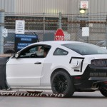 Spy Photo: 2015 Mustang Side View