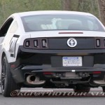 Spy Photo: 2015 Mustang Rear End
