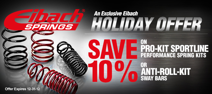 AmericanMuscle Holiday Eibach Rebate