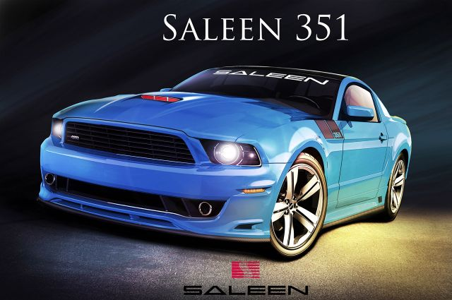 News: 2014 Saleen 351 Mustang Designed by Steve Saleen ...