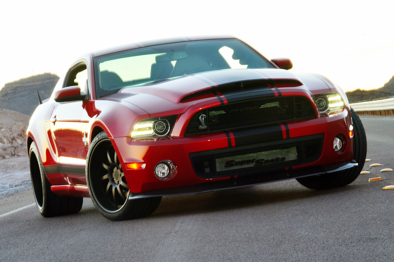 2013 GT500 Shelby Mustang With Super Snake Wide-Body Kit