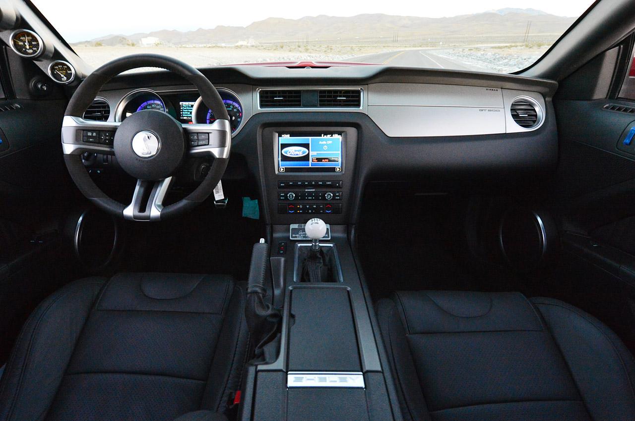 2015 Mustang Shelby GT500 Super Snake Interior