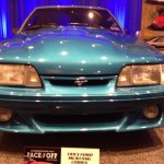 1993 Ford Mustang at the Philadelphia Auto Show