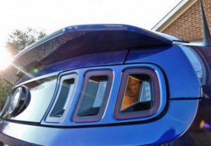 2013 Mustang Pre-painted Tail Light Trim