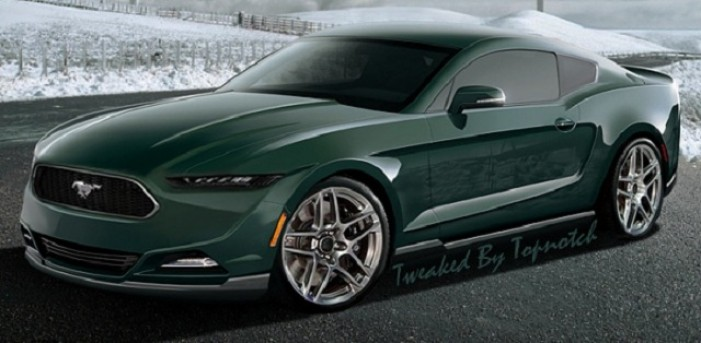 2015 Ford Mustang Concept Car Rendering