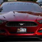 Front End of Possible 2015 Ford Mustang
