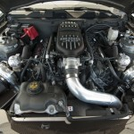 206 MPH 2011 Ford Mustang with Twin Turbo Setup