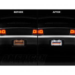 Ford Mustang Rear License Plate LED Lighting