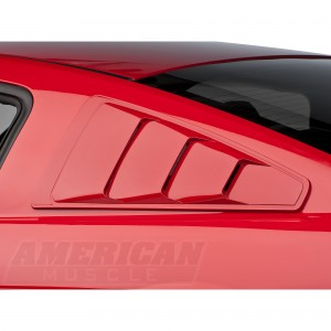 Ford Mustang Quarter Window Louvers