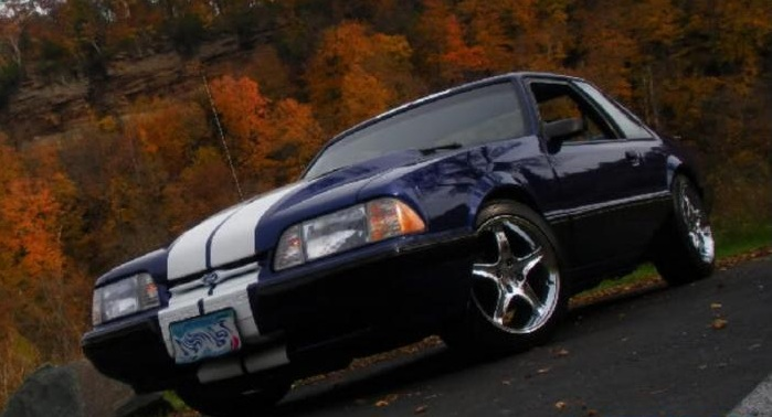 Fox Body MustangReady For Spring Tune-up