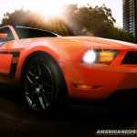 2012 Ford Mustang Boss Computer Wallpaper