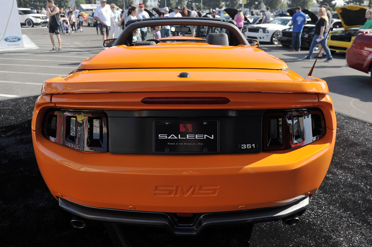 Video The 2014 Saleen 351 Extreme Black Label Revealed