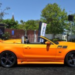 Orange 2014 Ford Mustang Saleen 351