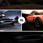 Boss vs. Night Cruiser Mustang Wallpapers
