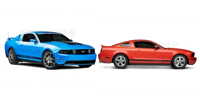 New Ford Mustang Wheels From Forgestar & Shelby
