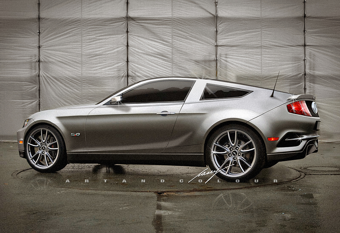 Rendering: What The 2015 Mustang Will Probably Look Like