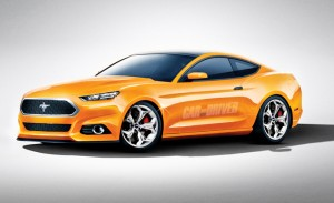 2015 Ford Mustang New Design