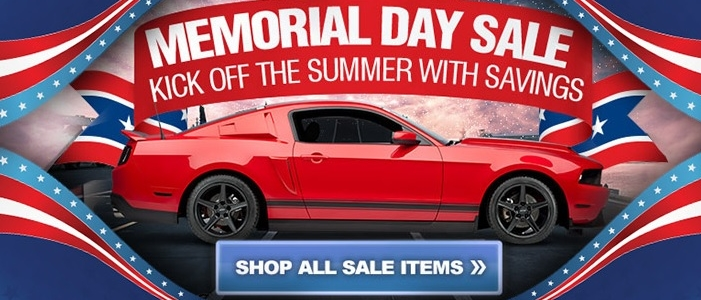 AmericanMuscle's Mustang Memorial Day Parts Sale
