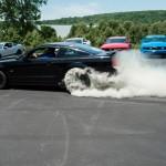 2005 Mustang GT Burnout
