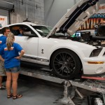 2009 Shelby GT500 on Dyno