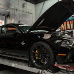 2012 Shelby GT500 Super Snake on Dyno