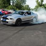 2014 GT500 Burnout