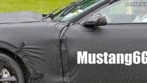 Side Styling on the 2015 Mustang