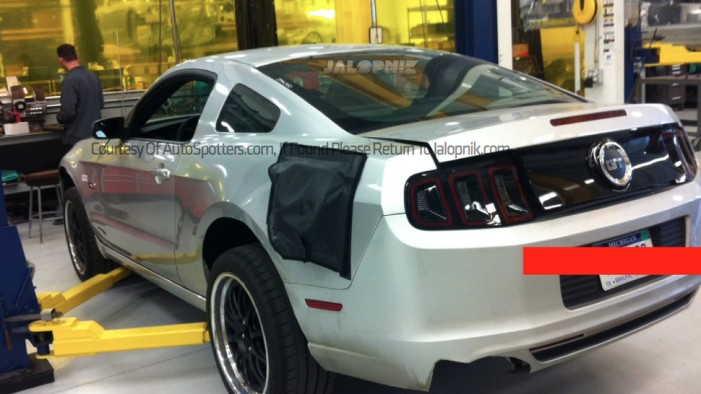 Test Mule 2015 Mustang with IRS