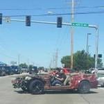 Oklahoma Tornado Mustang Driving