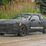 2015 Mustang Camo Test Car