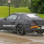 Rear of 2015 Ford Mustang Test Car