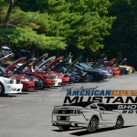 Car Show Mustang Line 2