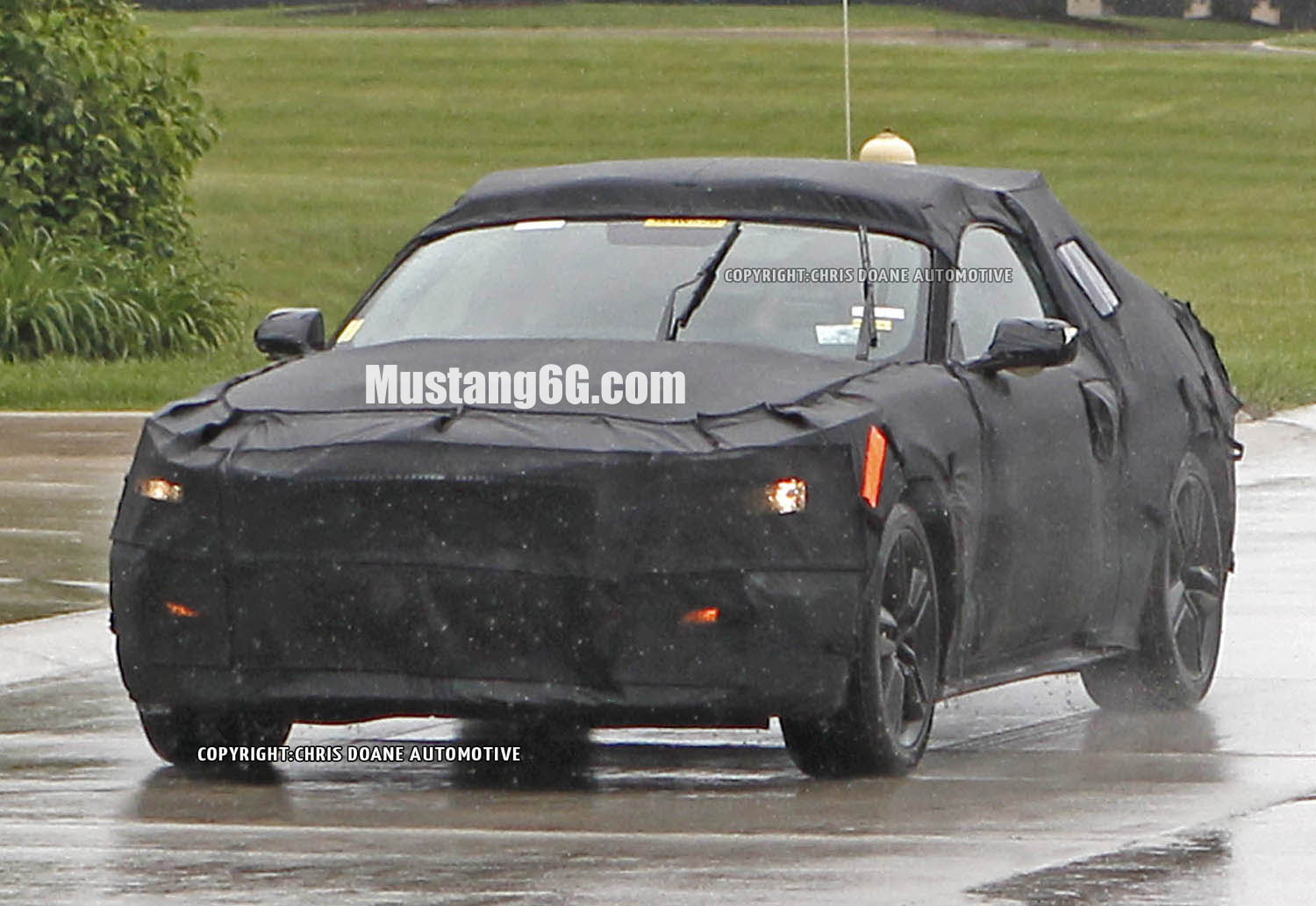 2015 Mustang Test Mule & Spied: Hereu0027s the 2015 Ford Mustang Under Camouflage ... markmcfarlin.com