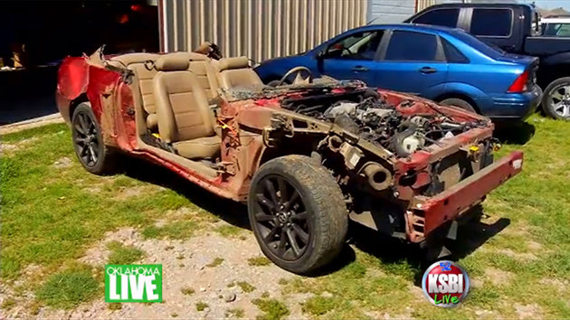 Destroyed Mustang Aftermarket Community Helps Owner