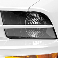 Why Do Race Cars Have Tape On Headlights