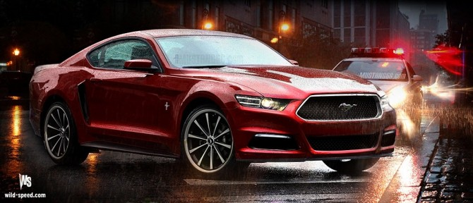 2015 Ford Mustang Concept Rendering
