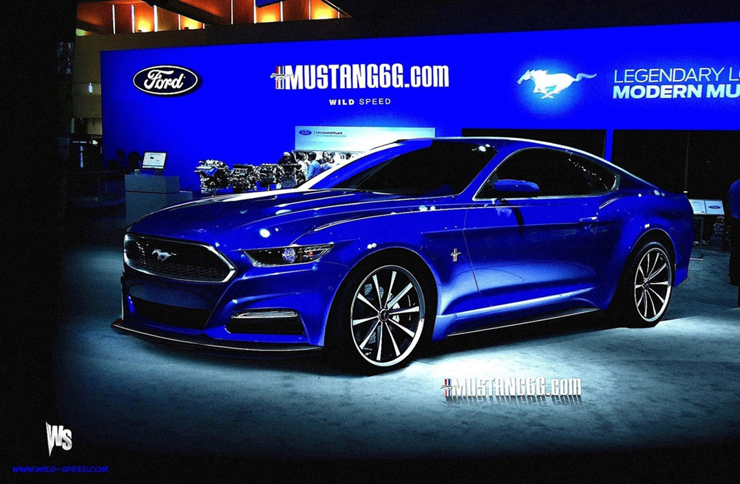 S550 to Debut with 1,000 Limited Edition 2014.5 Mustangs